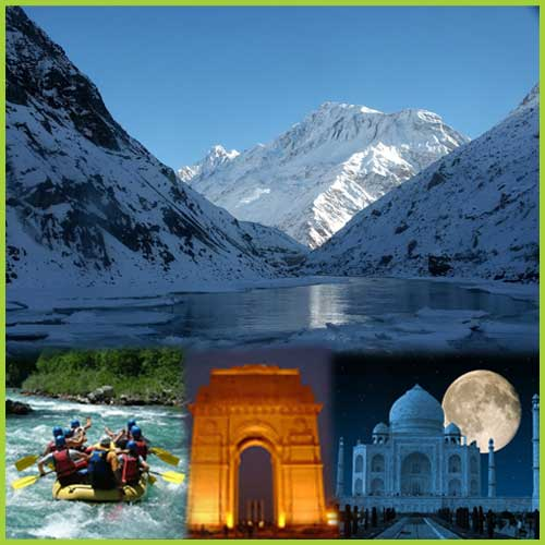 Tourist destination in North India