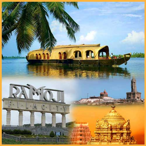 Tourist destination in South India