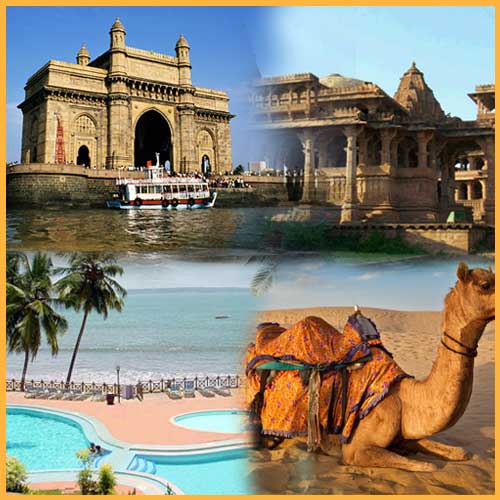 Tourist destination in West India